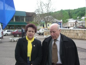Cu Alexandru Mosanu la Soroca
