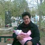 Cu nepotica in brate