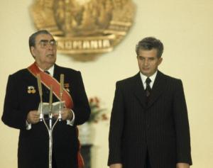 brejnev si Ceausescu