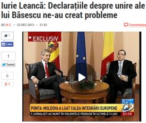 Leanca si Ponta