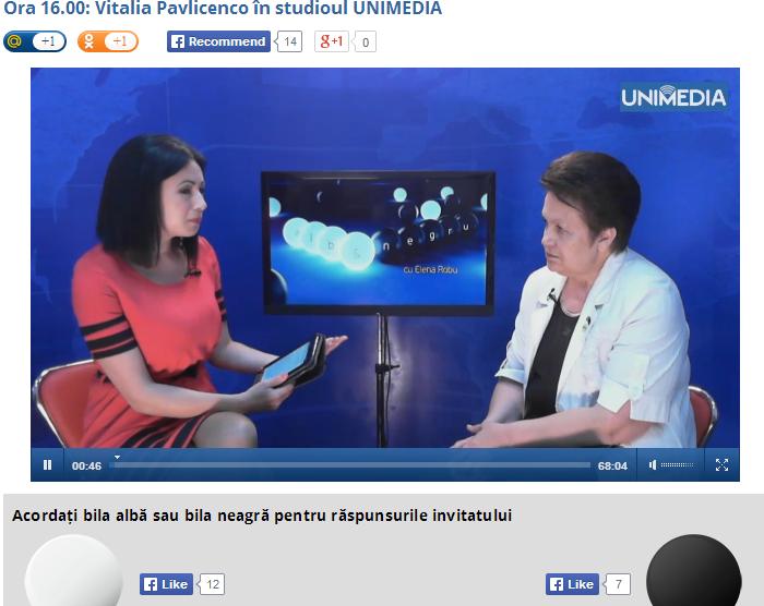 http://unimedia.info/tv/alb-negru/103/ora-16-00-vitalia-pavlicenco-in-studioul-unimedia