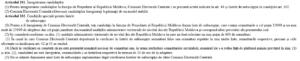 Art.101-102 din Codul Electoral, invocate în Hotărîrea CEC